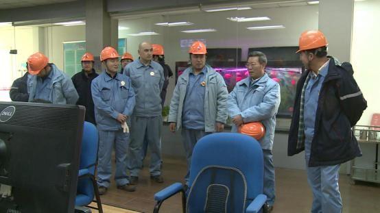 公司领导分别带队进行节前综合检查